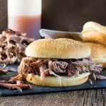 Smoked Pork Shoulder Pulled Pork with Carolina Style BBQ Sauce