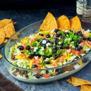Taco Dip with Meat