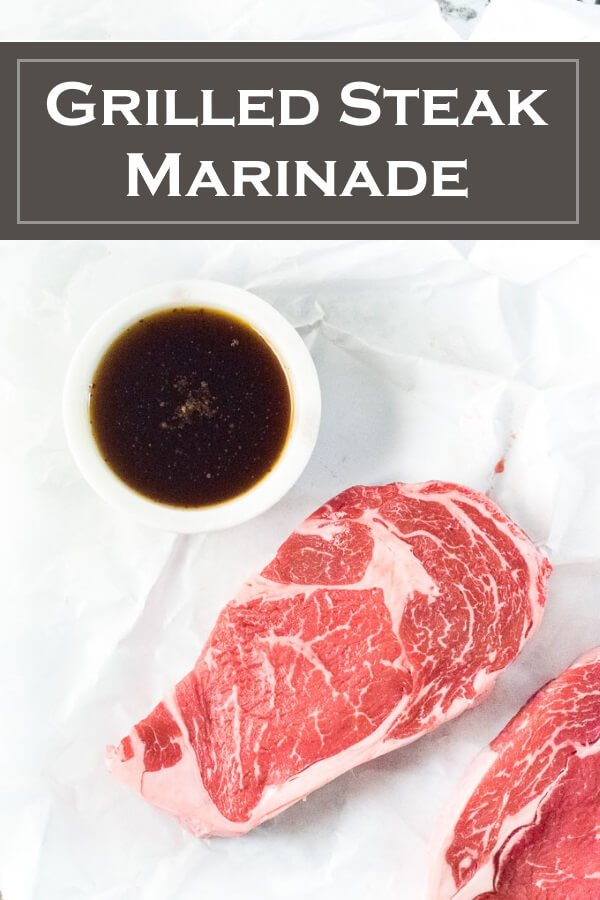Grilled Steak Marinade recipe #grilled #steak #beef #marinade recipe #marinate #cookout