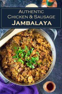 Authentic Chicken & Sausage Jambalaya - Creole recipe