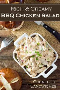 BBQ Chicken Salad recipe #sandwich #bbq #chicken #salad