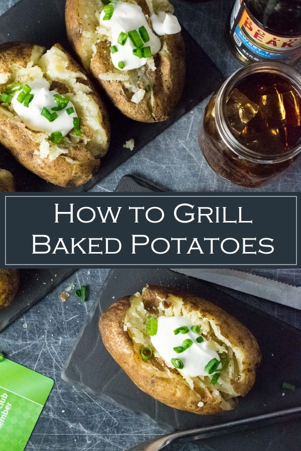 How to Grill Baked Potatoes #grilling #cookout #grilled #potatoes #potato