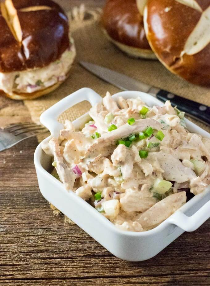 How to Make BBQ Chicken Salad