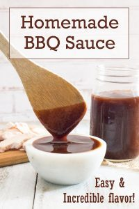 Homemade BBQ Sauce recipe #bbq #condiment #barbeque #easy