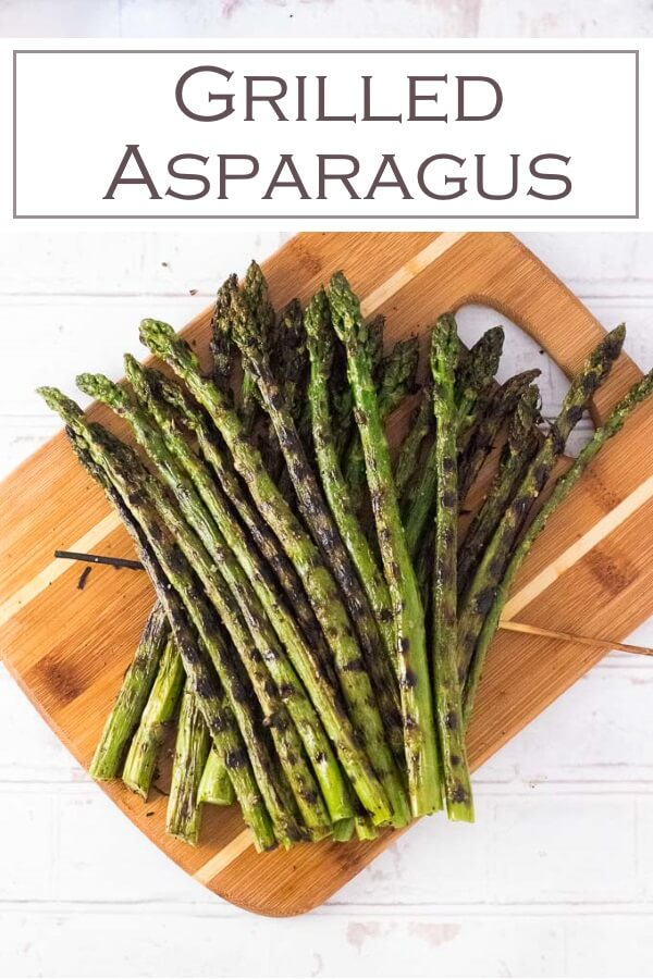 Grilled Asparagus Recipe #vegetarian #sidedish #grilling #cookout #recipe