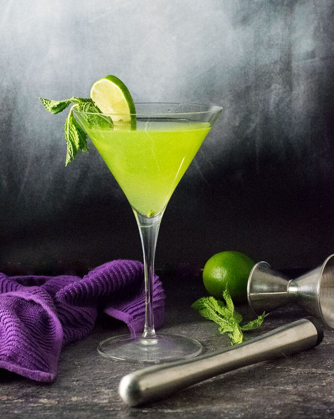 Mystery Melon Skinny Cocktail