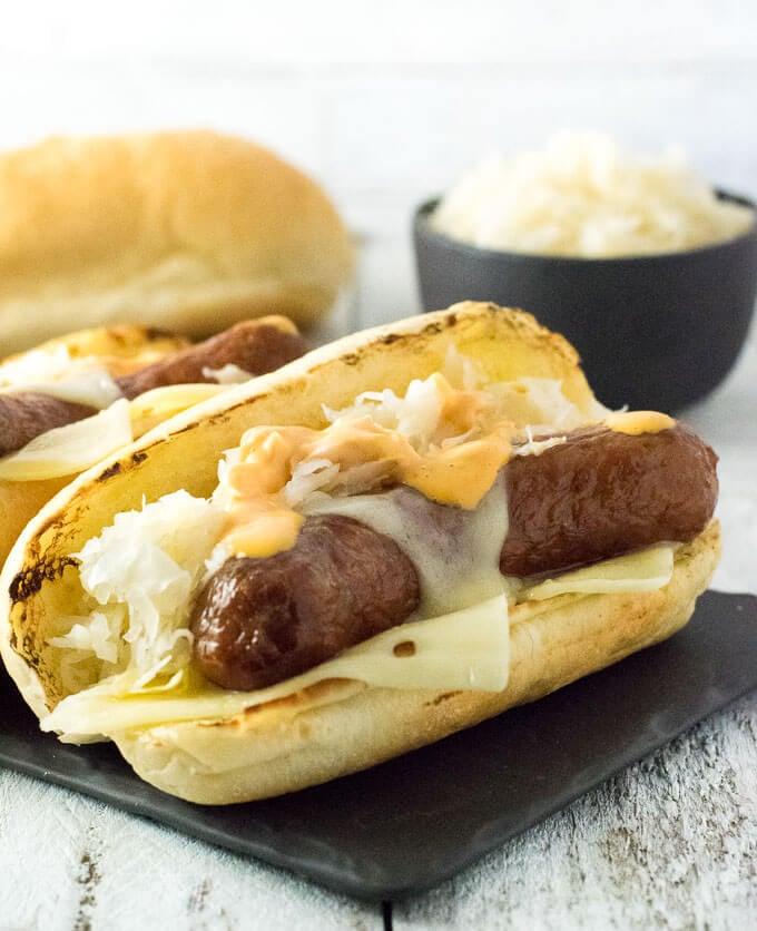 Reuben Bratwurst Recipe