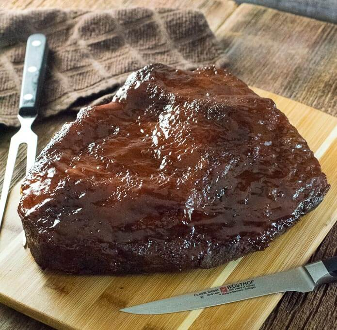 BBQ Brisket in the Oven recipe