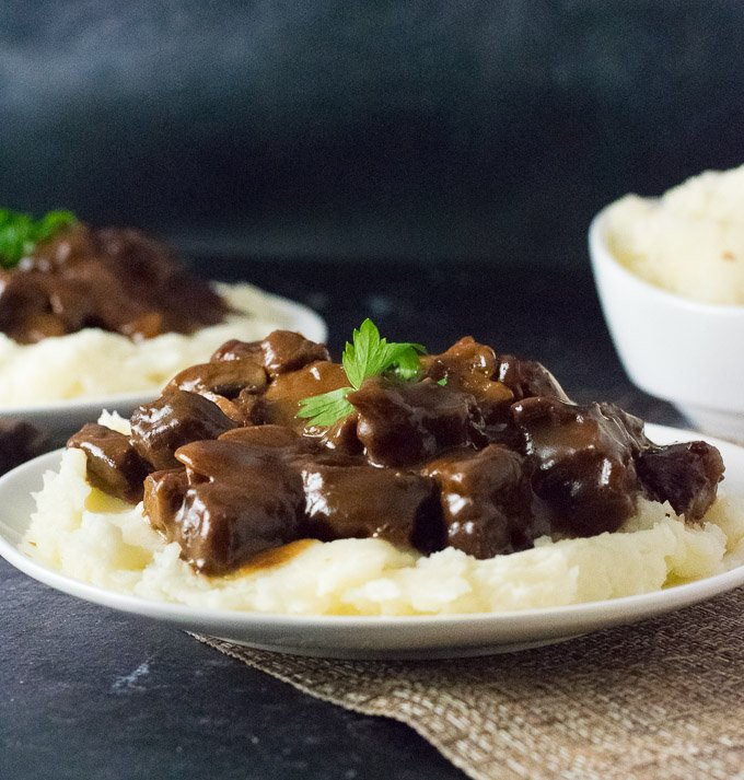 How to Make Beef Tips and Gravy