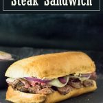 Steak Sandwich recipe #steak #sandwich #lunch #beef