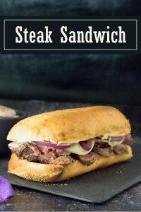 Steak Sandwich recipe #steak #sandwich #lunch #beef