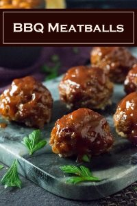 BBQ Meatballs recipe #bbq #meatballs #beef #party #appetizer