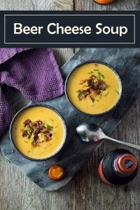 Beer Cheese Soup Recipe #soup #beer #cheese #comfortfood