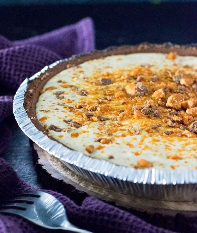 Butterfinger Pie dessert