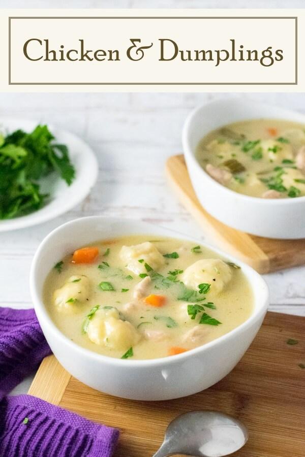 Chicken and Dumplings from Scratch #soup #dumplings #chicken #recipe