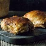 Slow Cooker Chicken Thighs - Bone In