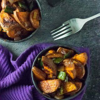 Southwestern Sweet Potatoes