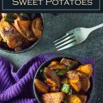 Southwestern Sweet Potatoes recipe #sidedish #southwestern #sweetpotatoes #potatoes #healthy