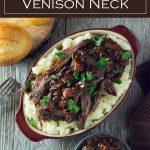 Beer Braised Venison Neck Recipe #wildgame #venison #roast #braised