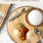Healthy Chicken Seasoning recipe #healthy #chicken #seasoning #rub #recipe