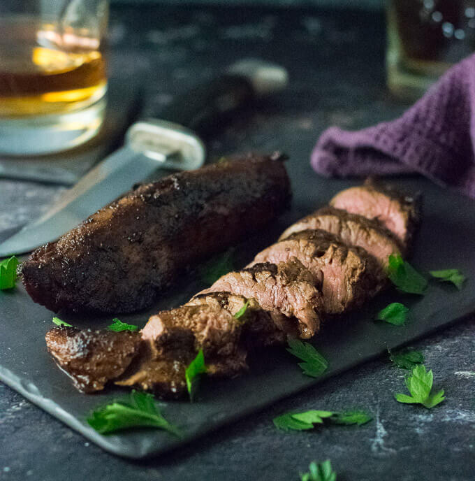 Marinated Venison Tenderloin