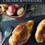 Slow Cooker Chicken and Potatoes recipe #chicken #potatoes #slowcooker #crockpot #dinner #chickenbreast