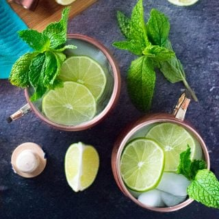 Moscow Mule with Gin recipe