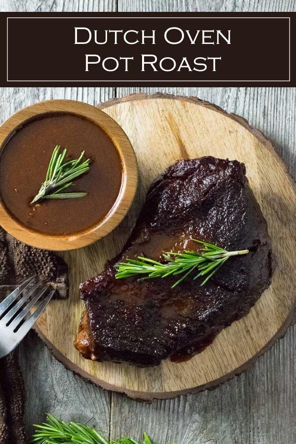 Dutch Oven Pot Roast recipe #beef #roast #dinner #dutchoven