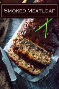 Smoked Meatloaf Recipe #meatloaf #beef #smoked #grilling #dinner