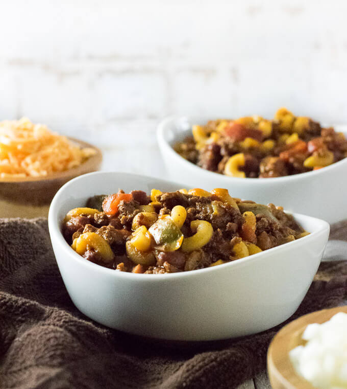 Chili With Noodles