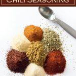 Homemade Chili Seasoning recipe #chili #seasoning #powder