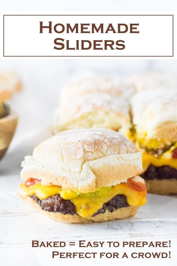 Homemade Sliders Recipe #sliders #burgers #party