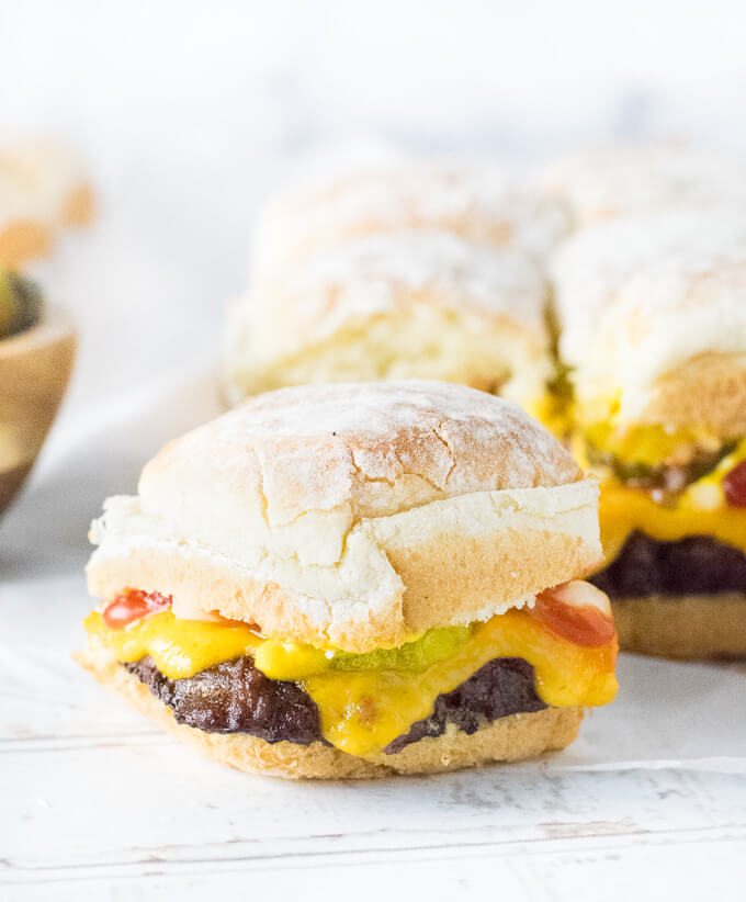 Homemade Sliders Recipe