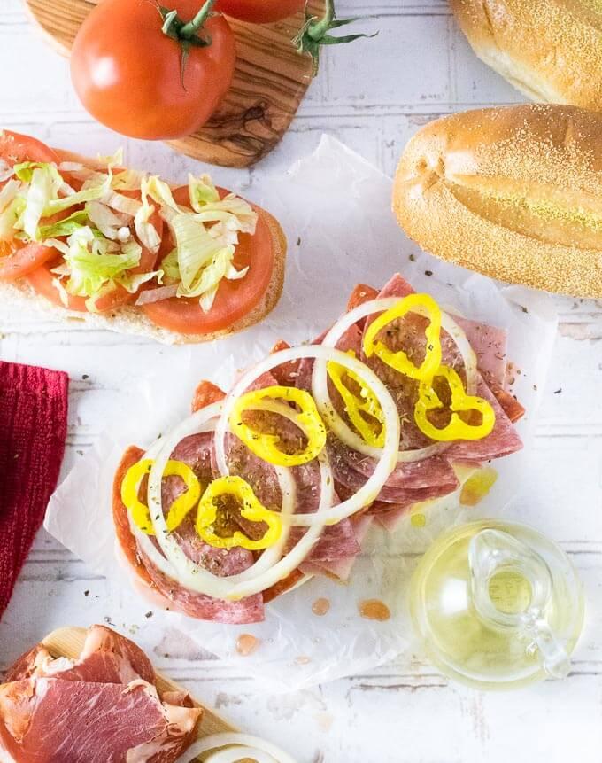 How to Make Italian Subs