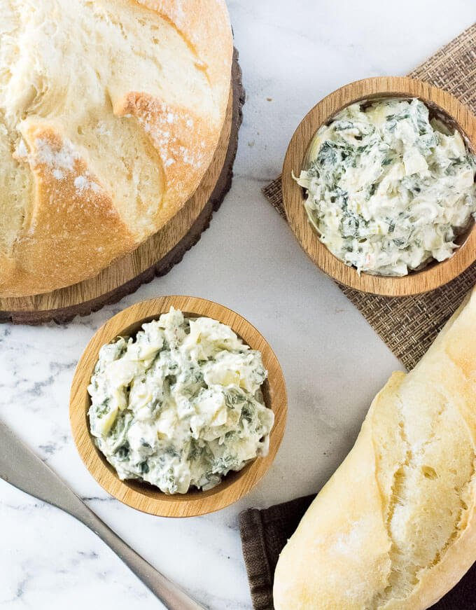 How to Make Cold Spinach Artichoke Dip