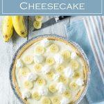 Banana Pudding Cheesecake recipe #cheesecake #dessert