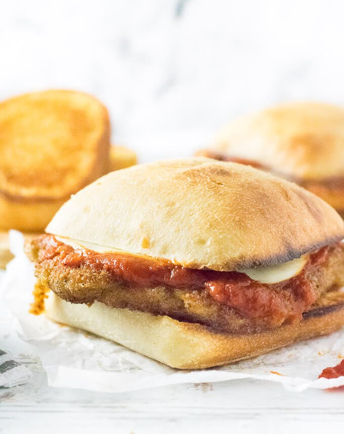 Chicken Parmesan Sandwich recipe