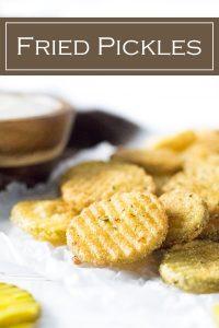 Fried Pickles recipe #appetizer #deepfried