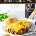 Guinness Shepherd's Pie #irish #casserole