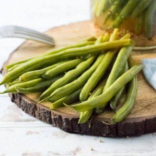 Refrigerator Pickled Green Beans recipe