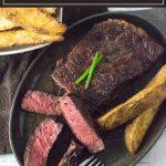 The reverse sear steak method is the best way to cook a steak. #steak #beef