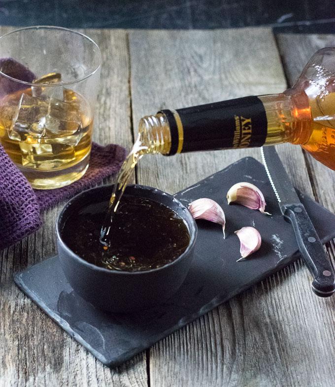 Whiskey Marinade