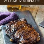 Whiskey Steak Marinade recipe #whiskey #steak #marinade