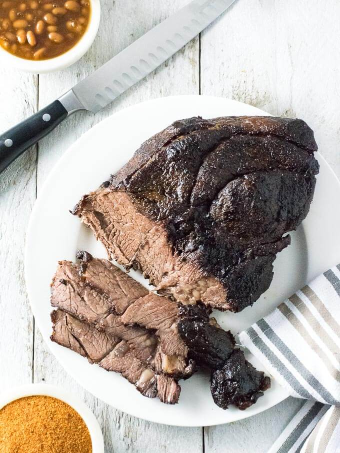 Smoked beef roast recipe