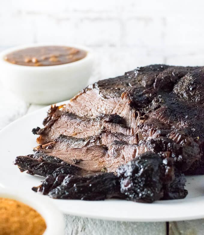 Smoked beef roast