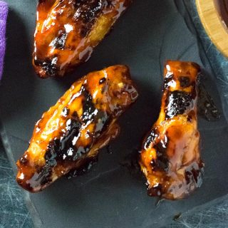 Grilled BBQ Chicken Wings recipe