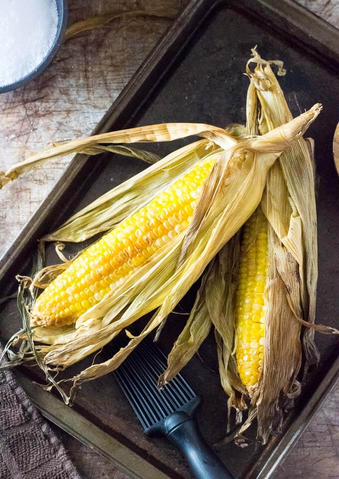 How to Smoke Corn on the Cob