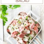 Easy imitation Crab Salad recipe #seafood #crab #salad
