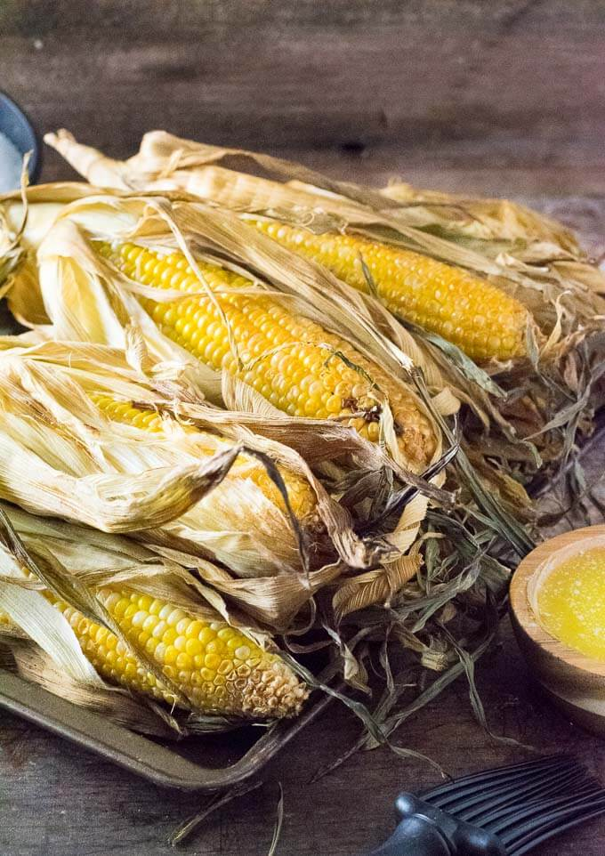 Smoked Corn on the Cob recipe
