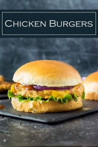 These barbecue chicken burgers are lean and flavorful. #bbq #chicken #burgers #healthy